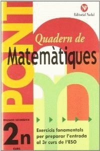 Quadern pont matematiques 2ºeso cataluña