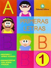 Primeras letras 1
