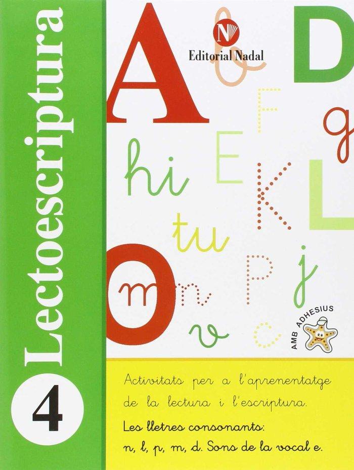 Lectoescriptura 4 ei lletres consonants