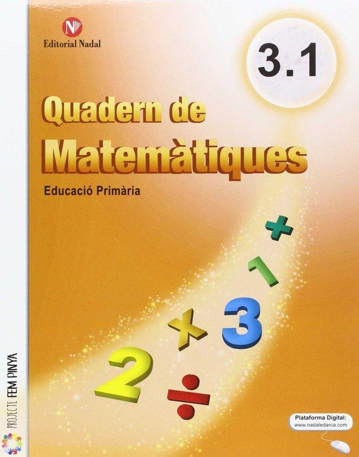 Quaderns matematiques 3ºep 16 (pack 3 cuadernos)