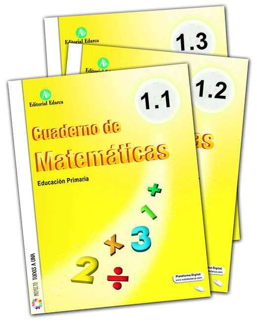 Cuaderno matematicas 1ºep trimestres 16