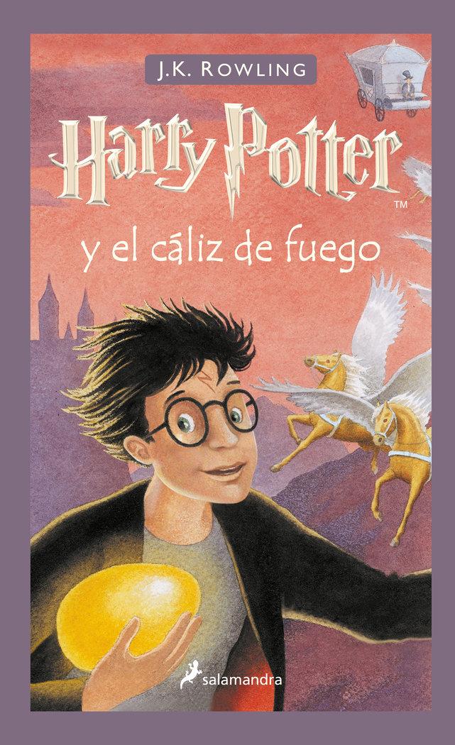 Harry potter 4 el caliz de fuego