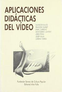 Aplicaciones didacticas video