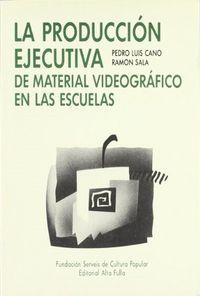 Produccion ejecutiva material video