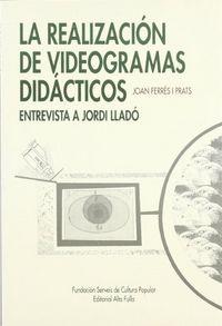Realizacion videogramas didacticos