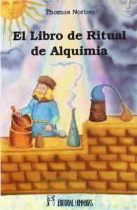 Libro de ritual de alquimia,el