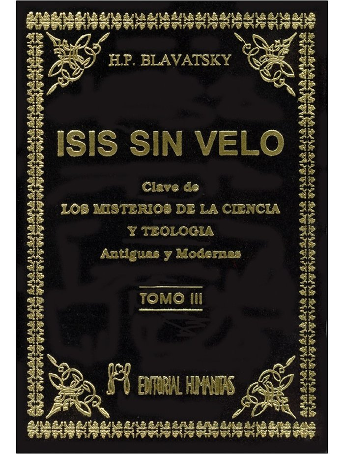 Isis sin velo t.iii