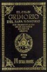 Gran grimorio del papa honorio,el