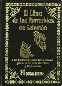 Libro de los proverbios de salomon,el