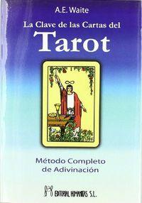 Clave de las cartas del tarot,la