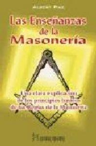 Enseñanzas de la masoneria,las