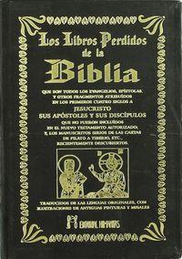 Libros perdidos de la biblia,los