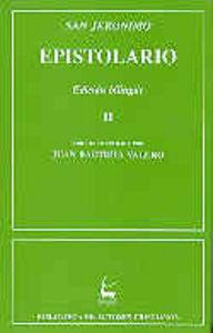 Epistolario de san jeronimo. ii: cartas 86-154