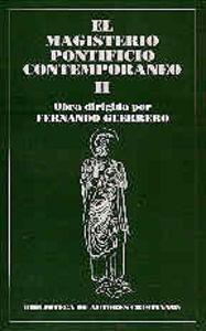 Magisterio pontificio contemporaneo. ii,el