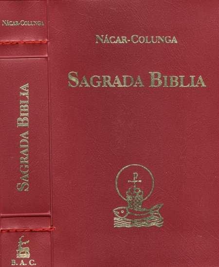 Sagrada biblia cremallera