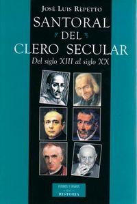 Santoral del clero secular
