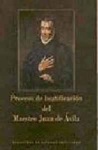 Proceso de beatificacion del maestro juan de avila