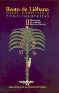 Obras completas y complementarias de beato de liebana. ii: