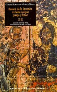 Historia de la literatura cristiana antigua griega y latina.