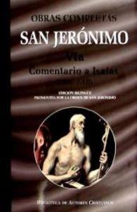 Obras completas de san jeronimo. via: comentario a isaias (l