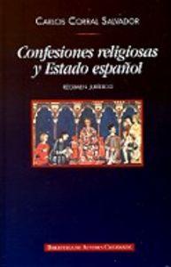 Confesiones religiosas y estado español