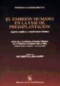 Embrion humano en la fase de preimplantacion,el