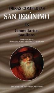 Obras completas de san jeronimo. ix: comentarios paulinos