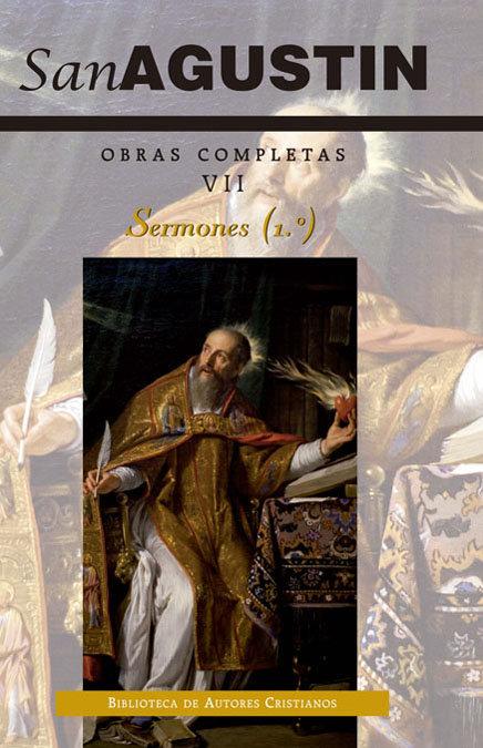 Obras completas de san agustin. vii: sermones (1.º): 1-50: s