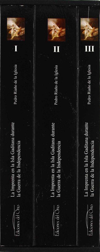 Imprenta en la isla gaditana durante la guerra de la indepen
