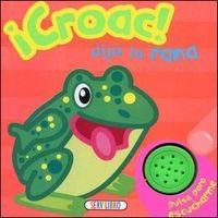 Croac dijo la rana  escucho los animales