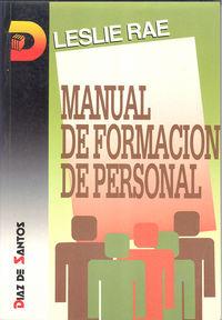 Manual de formacion de personal