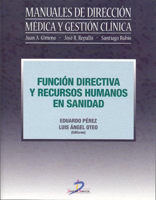 Funcion directiva y recursos humanos en sanidad