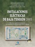 Instalaciones electricas de baja tension
