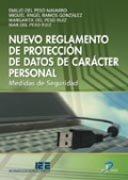 Nuevo reglamento proteccion datos de caracter personal