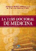 Tesis doctoral de medicina,la