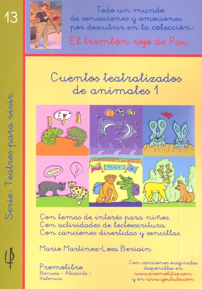 Cuentos teatralizados de animales 1 nº13