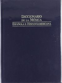 Dic.de la musica española vol 1