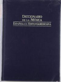 Dic.de la musica española vol 3