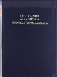Dic.de la musica española vol 4