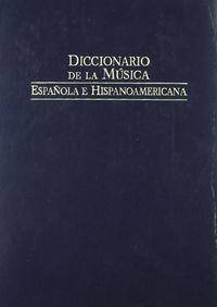 Dic.de la musica española vol 7