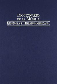 Dic.de la musica española vol 10