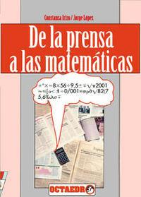 De la prensa a las matematicas