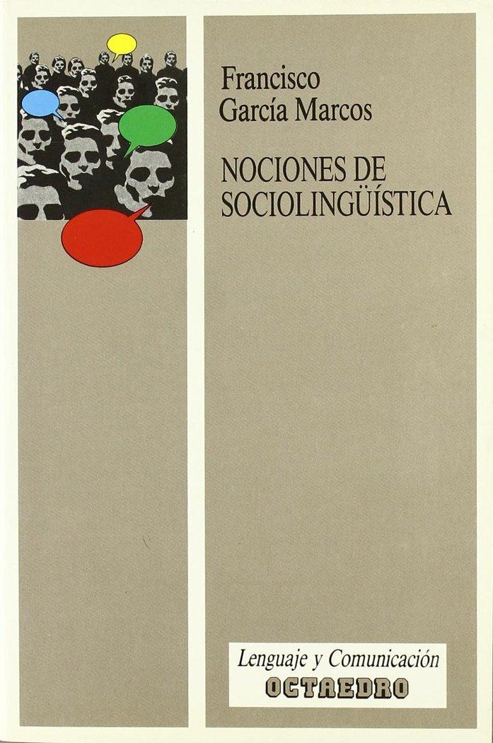 Nociones de sociolinguistica