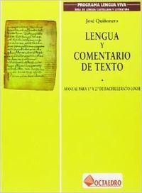 Lengua y coment.texto octaedro