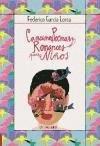 Canciones poemas y romances para niños