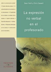Expresion no verbal en profesorado