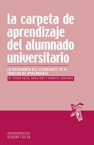 Carpeta de aprendizaje del alumnado universitario