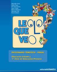 Leo lo que veo diccionario tematico visual