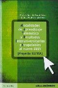 Modalidades de aprendizaje telematico y resultados interuniv