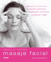 Masaje facial sencillo y natural
